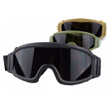 Hot ! Army Tactical Goggles Eyewear Outdoor Sport Gear Paintball Airsoft Game Safety Glasses Hunting Shooting