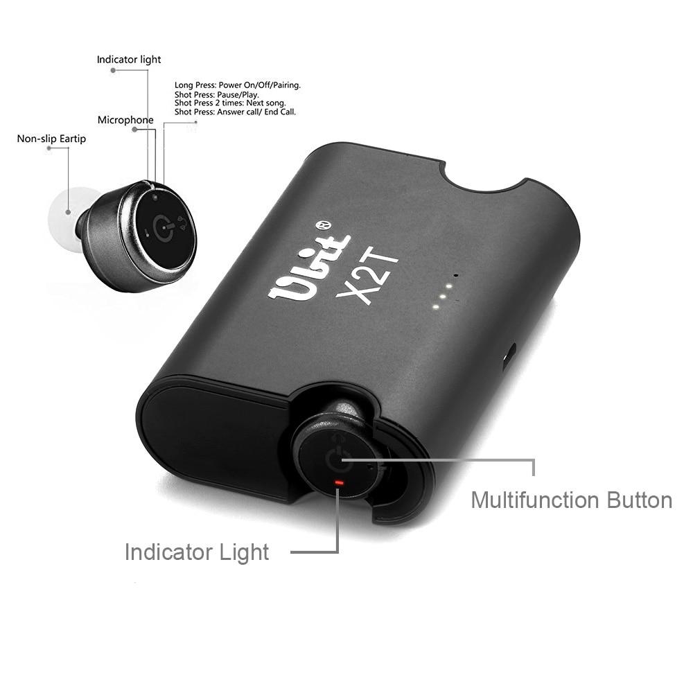 Ubit X2T True Wireless ακουστικά TWS Mini Ακουστικό - Φορητό ήχο και βίντεο - Φωτογραφία 4