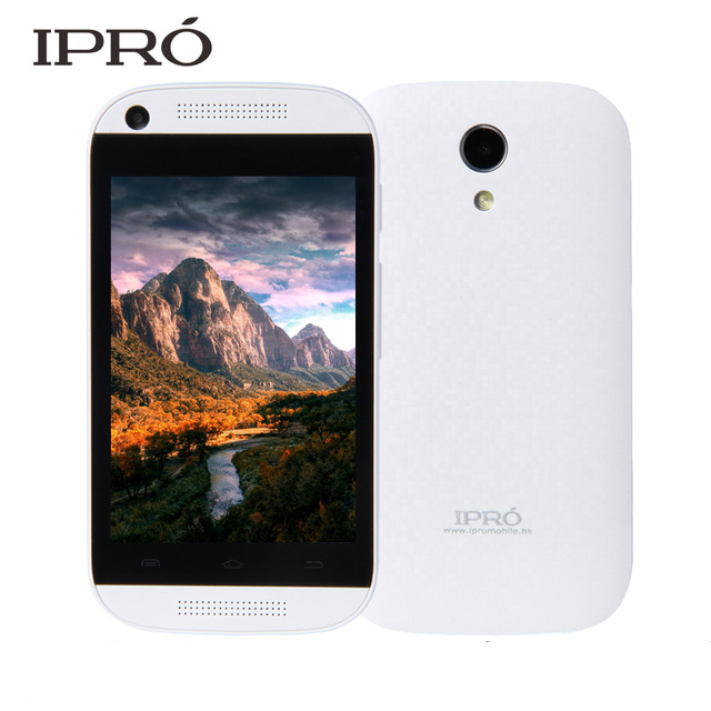 IPRO Brand Smartphone Android 4.4 Smart Phone Mobile Phone 4GB ROM Dual Core 3.5 Inch Cell Phones Valentines Gift