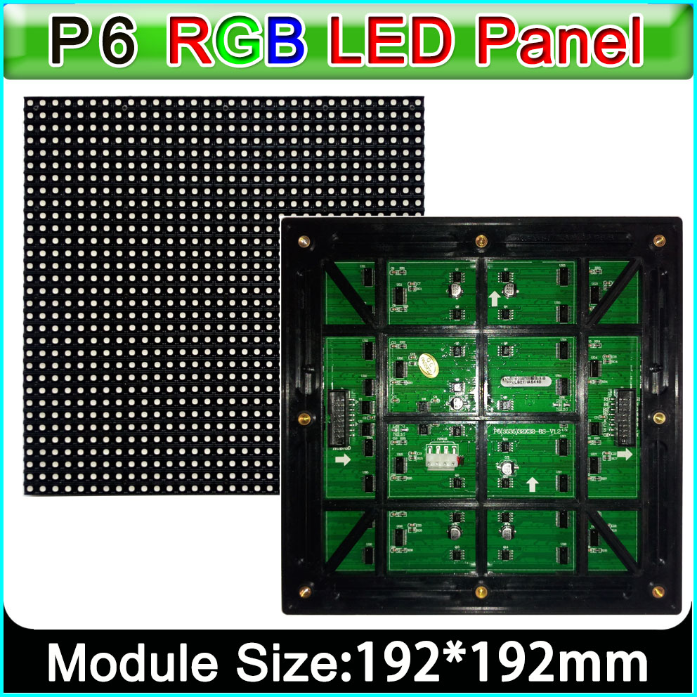 Im Freien Farbenreiche Led-anzeige Smd 3in 1 Rgb Led-panel Lichter Klar Und GroßArtig In Der Art
