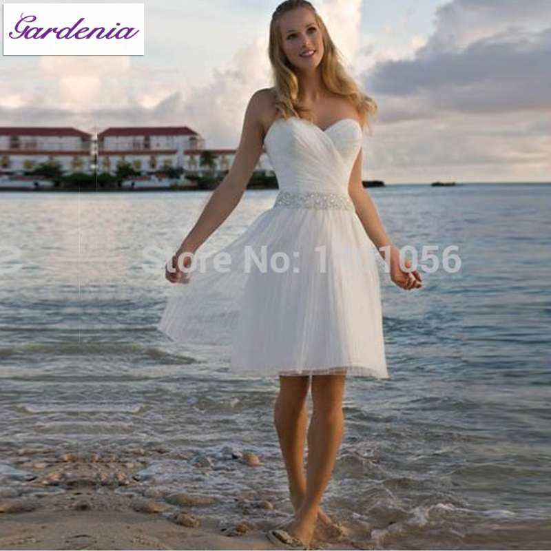 Vestidos De Novia Fashionable Casual Beach Wedding Dress Australia ...
