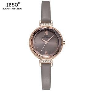 Image 3 - IBSO חדש יוקרה גבירותיי קוורץ שעון נשים Relogio Feminino שעות אופנה נשים יד שעונים נשי שעון Montre Femme 2020