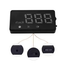 Auto Car projector on the windshield GPS HUD Head Up Display Universal Car Speedometer speed alarm Positioning Digital LED