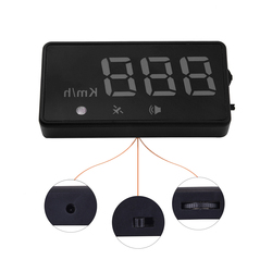 Vehicle auto car gps hud head up display universal car speedometer speed alarm projector head up.jpg 250x250