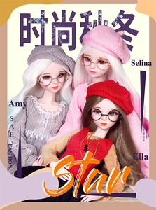 Image 1 - BJD doll clothes suitable for 1/3 doll,60cm doll 20190220