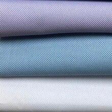 Мужская классическая рубашка из хлопка высокой плотности, Классическая рубашка с длинными рукавами на заказ, 3 шт.