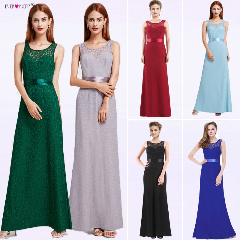d1582c2fa Evening Dress Long Ever Pretty EP08938 Mermaid Women Lace vestidos de fiesta  largos elegantes de gala 2018 Plus Size Party Dress