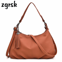 Women Leather Handbags High Quality Female Soft Leather Shoulder Bags Vintage Tote Bag Female Sac A Main Ladies Hand Bag Bolsas