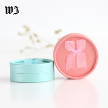 28 x 3.5 Rounded Gift Box Jewelry Ring Earring Pendant Necklace Package Paper Set Boxes Multi-color Storage Cases