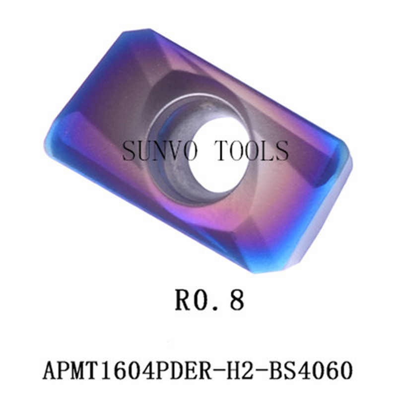 APMT1604PDER PM5525 milling carbide inserts for indexable end milling cutter