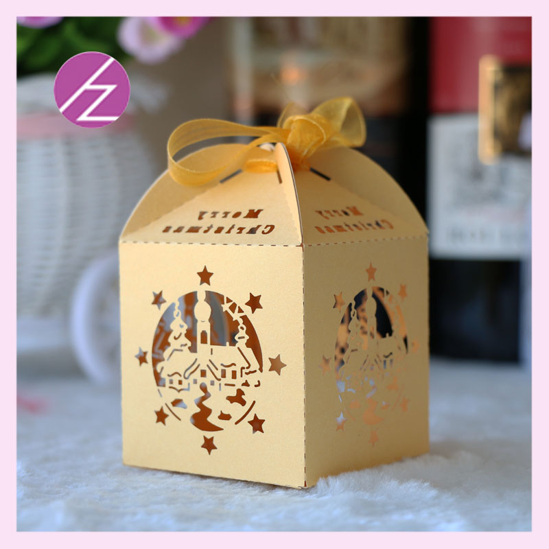 100pc fairy tale wedding party decoration paper candy box for Aana decoration wedding accessories