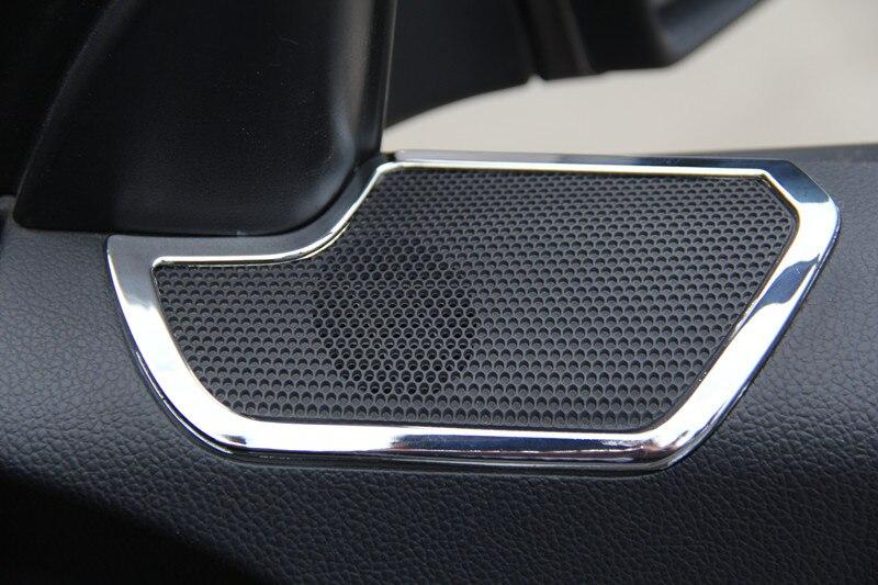 Car Styling 2 Pz Nuovo Chrome Car Interior Door Stereo Speaker copertura Trim per Kia Sportage R 2011 2012 2013 2014 2015Car Styling 2 Pz Nuovo Chrome Car Interior Door Stereo Speaker copertura Trim per Kia Sportage R 2011 2012 2013 2014 2015