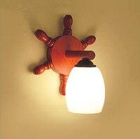 Chineses نمط الرجعية الأحمر الخشب الفن جدار مصابيح الأبيض متجمد الزجاج E27 LED مصباح لغرفة النوم و الشرفة و الدرج و جناح و استوديو HXBD005