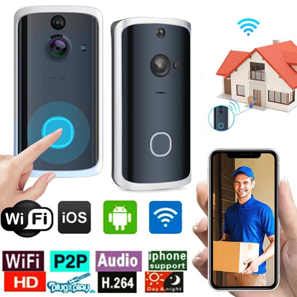 M12 Smart WIFI Doorbell IP Video Intercom Video Door Phone Door Bell Camera For Apartments IR Alarm Wireless Security Camera