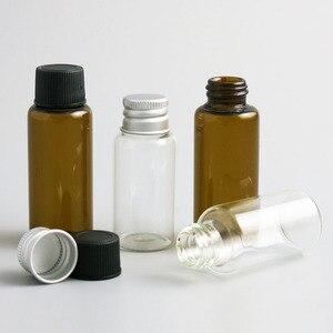 Image 3 - Promozione 500x20 ml 25ml di Liquido di Raccolta Del Campione Bottiglie di Vetro Fiale tappo A Vite Capacità 2/3oz bottiglia di Vetro del campione