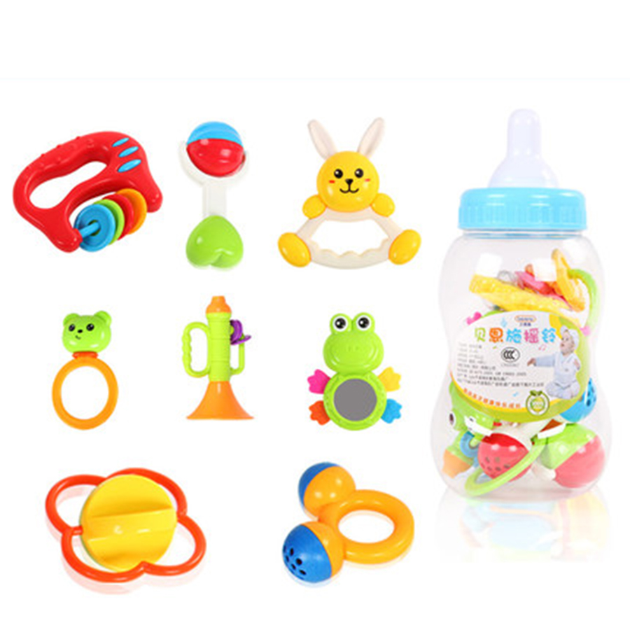 Toys For 0 12 Months : Interactive toys for babies plastic rattles months