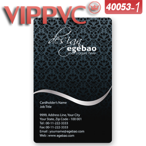 A40053 business card template for plastic business card 038mm thin a40053 business card template for plastic business card 038mm thin pvc card fbccfo Images