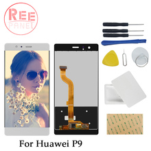 High screen For HuaWei P9 EVA L09 4G LTE Mobile Phone LCD Display+5