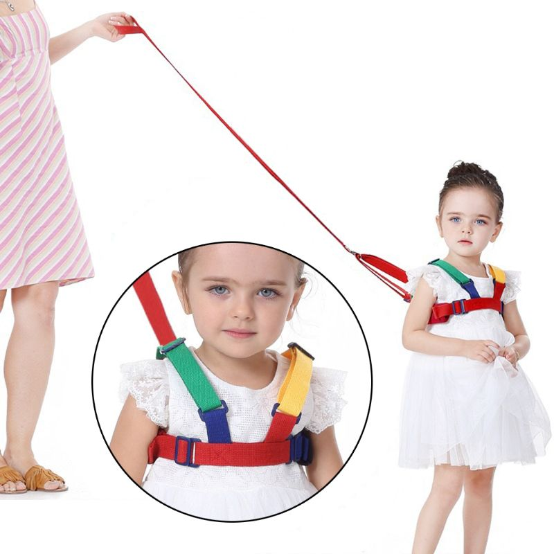 Baby Child Kids Safety Harness Anti Lost Strap Band Wrist Leash Walking Backpack