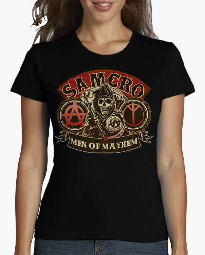 SONS OF ANARCHY 1  T Shirt For Womens