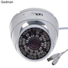 "Gadinan Indoor/Outdoor Waterproof 1/3"" Sony Effio-E 4140+811 Full HD 700tvl 960H 48leds Dome Security CCTV Camera Metal Housing"