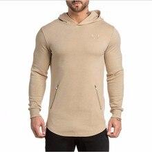 2016 marke Neue ASRV männer Lange Hoodies Hoodies Lässige Sweatershirt Kleidung Männer Sweatshirt Mit Kapuze Mantel