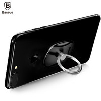 Baseus Smartphone Ring Holder Tablet Desktop Mount Stand Cell Phone Finger Ring Grip Bracket For Iphone