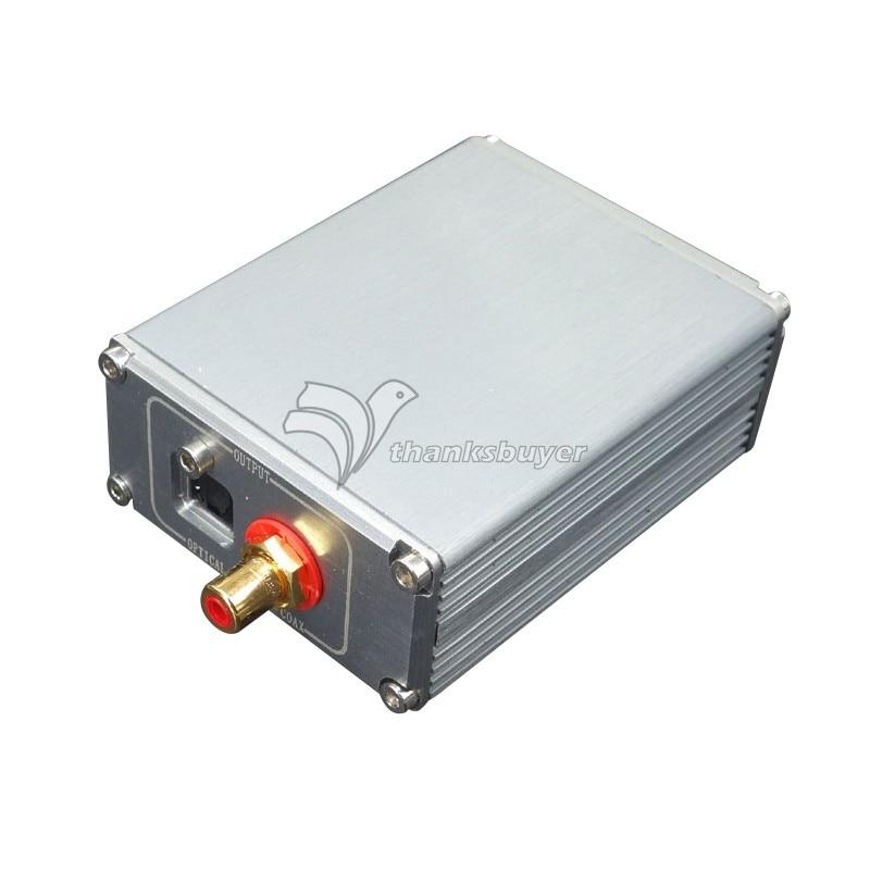 XMOS U8 Asynchronous USB Coaxial Optical Digital MuRata HIFI Audio Transformer TCXO