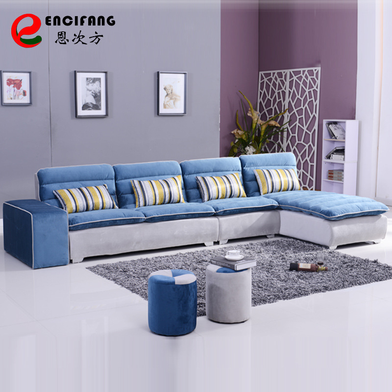 Combination Of Modern Minimalist Sofa Corner L Shaped Living Room Small Apartment Washable Brand New S68 In Sofas From Furniture On