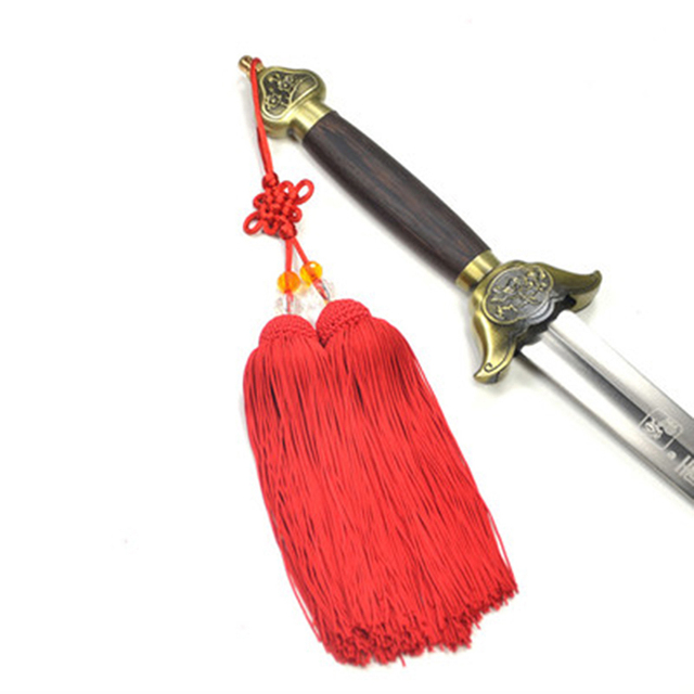 4 цвета полиэстер высокого класса Jiansui Taichi боевое искусство соревнование профессионального использования меч кисточкой Taiji кисточки