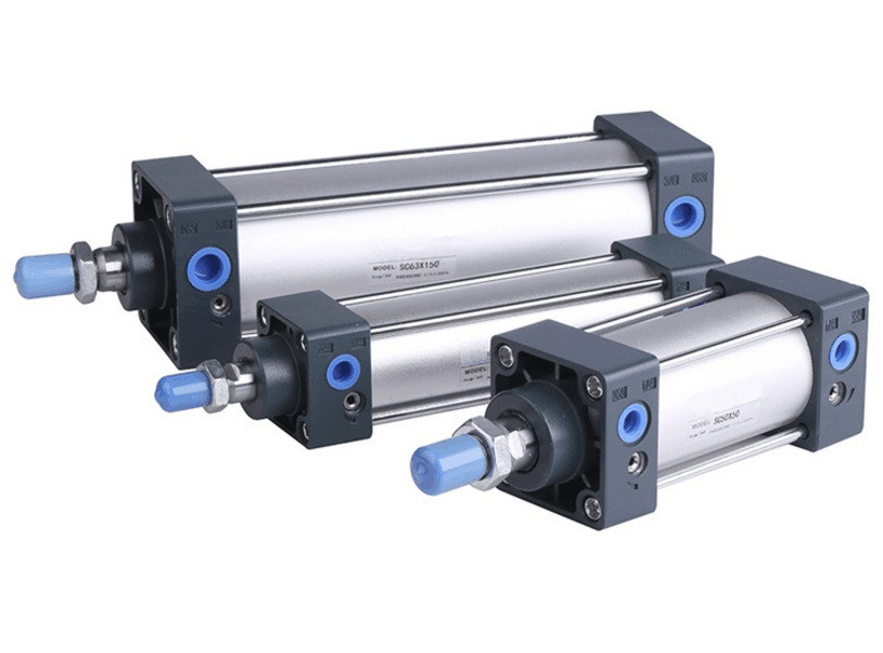 Free shipping high-quality AirTAC type SC32 series bore 25mm to 1000mm stroke Standard cylinder air pneumatic cylinder sc50 25 airtac standard cylinder air cylinder pneumatic component air tools sc series