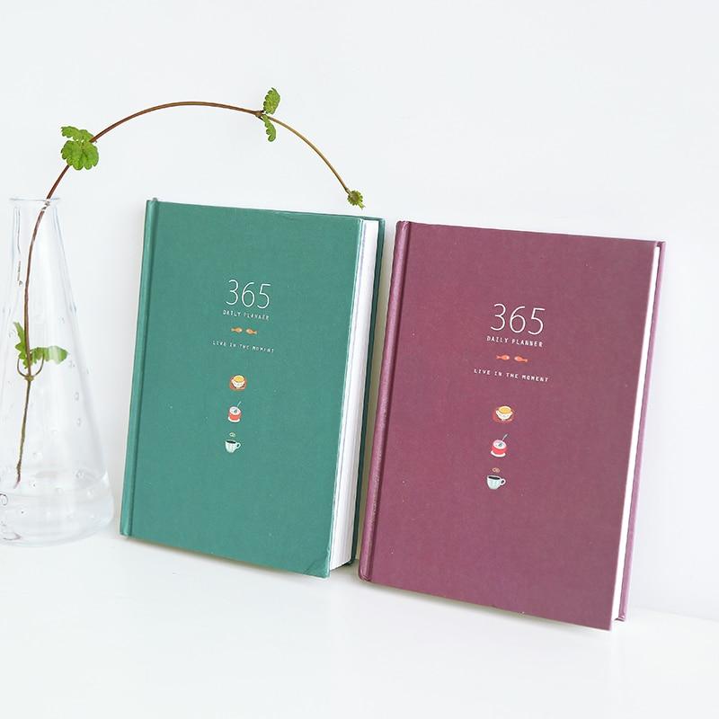 Notebooks & Schreibblöcke 365 Tage Persönliche Tagebuch Planer Hardcover Notebook Tagebuch 2018 Bürowochen Zeitplan Nette Koreanische Briefpapier Libretas Y Cuadernos