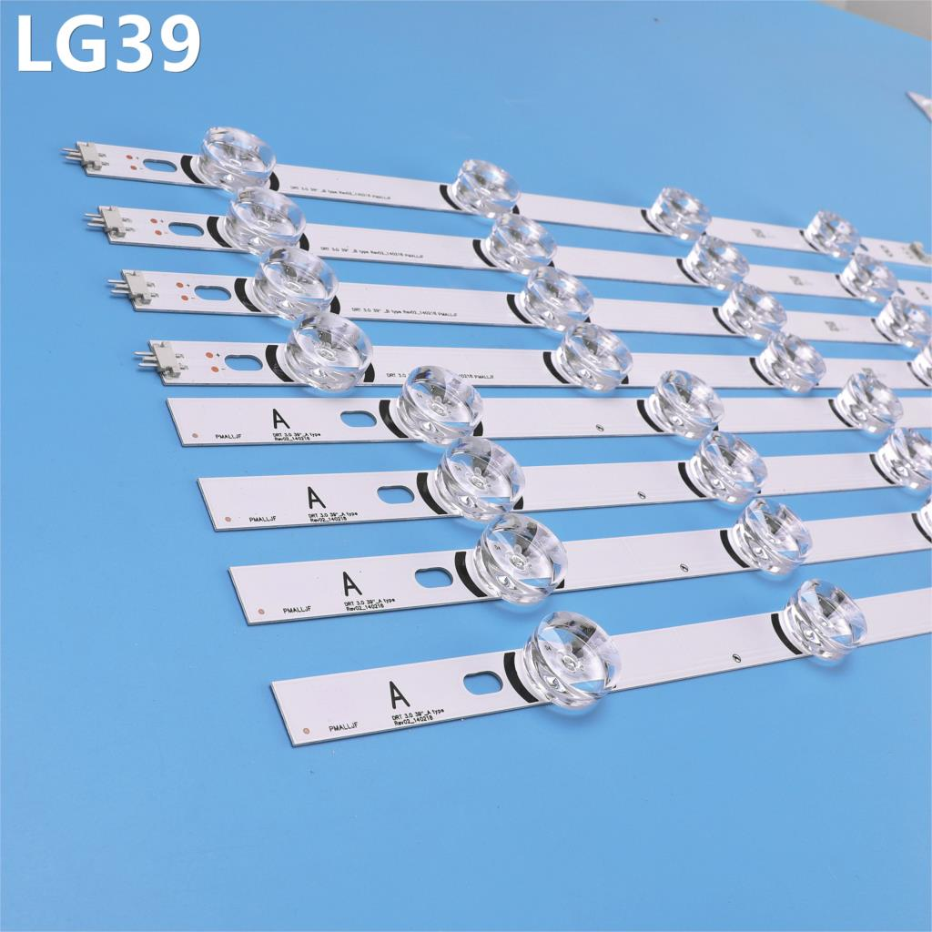 807mm LED Backlight Lamp Strip 8 Leds For LG 39 Inch TV 390HVJ01 Lnnotek Drt 3.0 39
