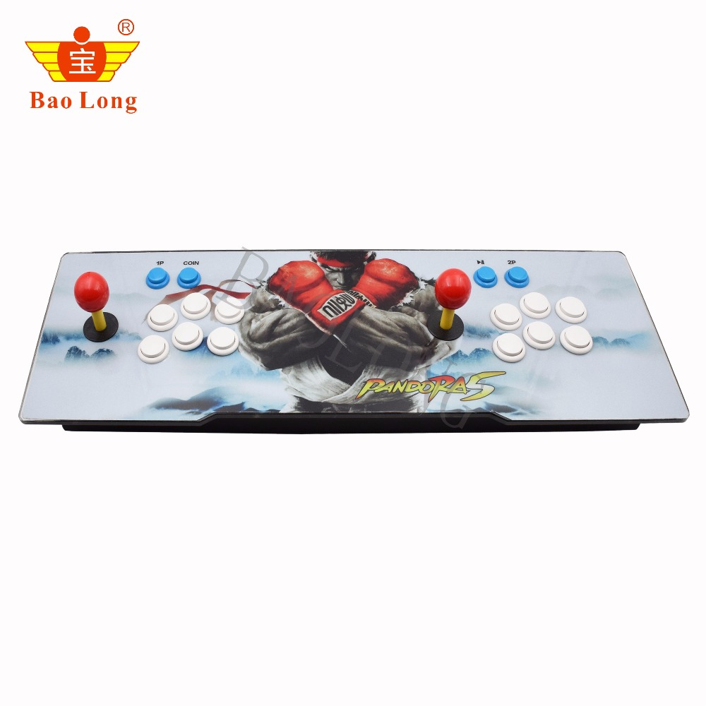 Newest arcade game console 1/ 2 players 999/1299/2020 in l Pandora box 5s in 1 arcade game console стоимость