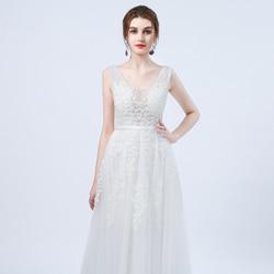 Robe de Mariage Sexy Open Back Bohemian Lace Vintage Boho Beach Wedding Dress 2018 Romantic Wedding Gowns Vestido de Noiva 4