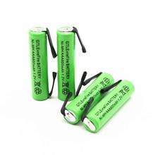 AAA Bateria recarregável 1.2 v 600 mah Ni-MH Para escova de Dentes Elétrica Mouse Sem Fio Microfone Controle Remoto LEVOU Lanterna