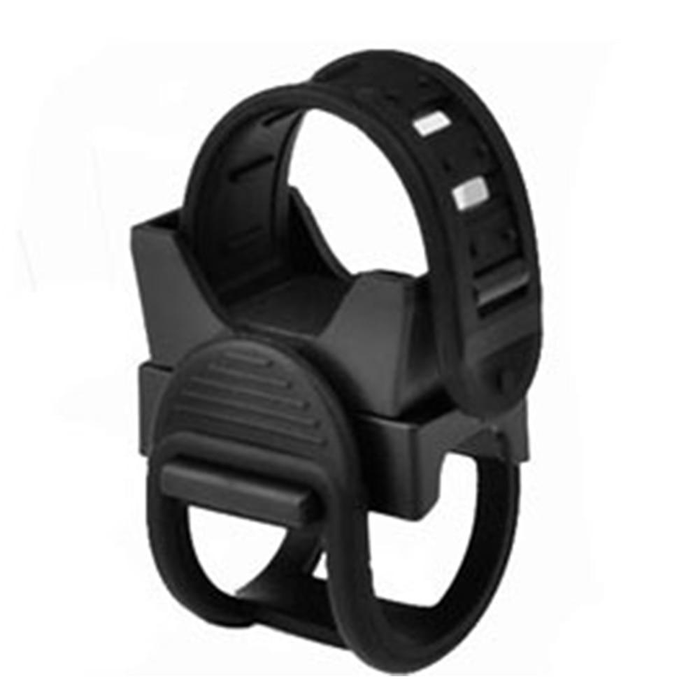 New Adjustable Belt 360 Degree Rotation Universal Bicycle Light Holder Flashlight Rack  Bike Light Mount Bracket Clip