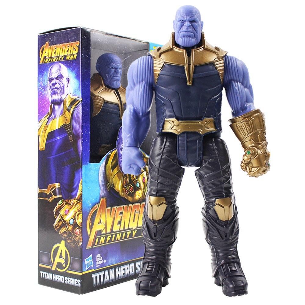 Titan Hero Serie Marvel Avengers 3 Unendlichkeit Krieg Thanos Action Figur Spielzeug PVC Sammeln Modell Spielzeug für Kinder