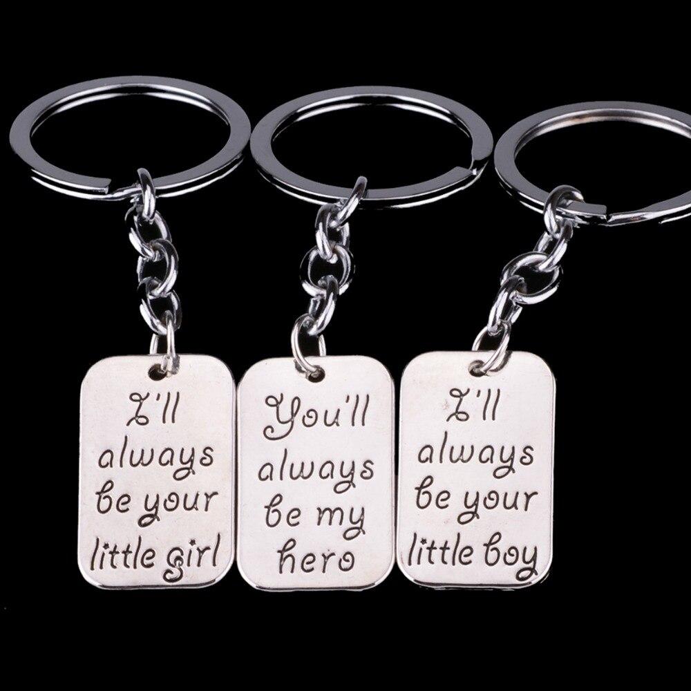 Daddy Daughter Key Rings