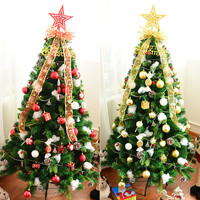 Mixed 155PCS Christmas Balls Gifts Candies Boxes Nuts Star LED Lights Merry Christmas Tree Hanging Decorations Xmas DIY Decor