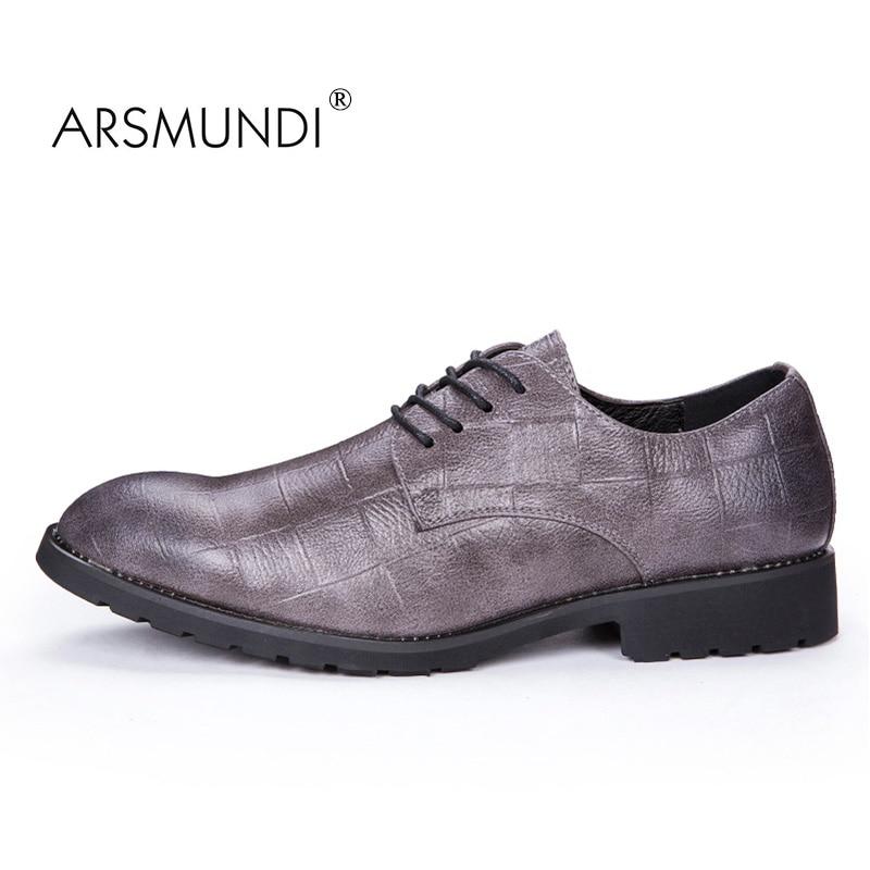 ARSMUNDI Izvorni muškarci Casual Shoes Fall 2017 Crna modna cipela - Muške cipele - Foto 2