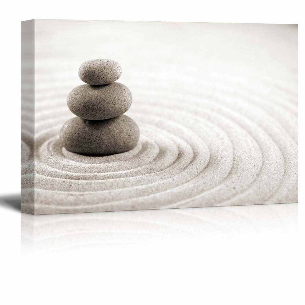 Modern Minimalist Zen Canvas Art Sandstone Painting Poster Wall Art Picture Of Home Decor Painting