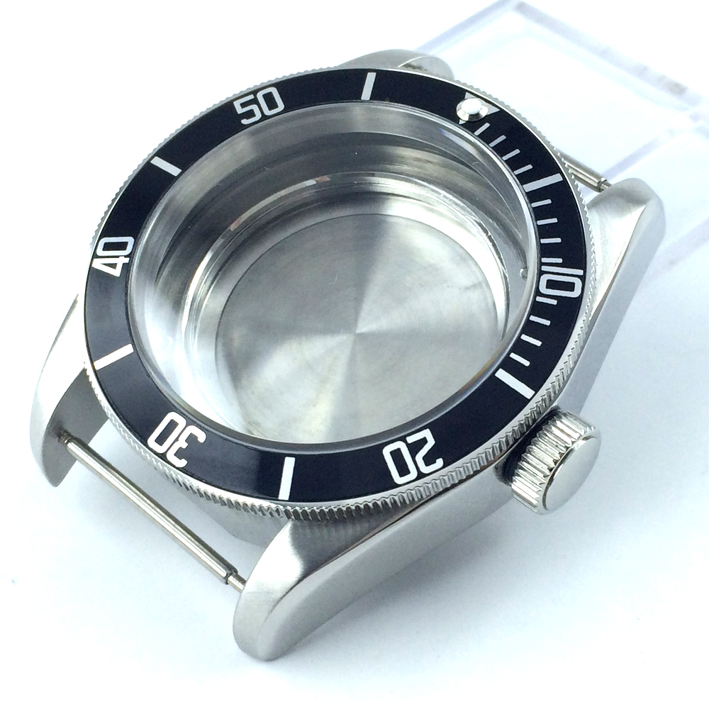 где купить 41mm sapphire glass salf winding Watch Case fit ETA 2824 2836 MOVEMENT по лучшей цене