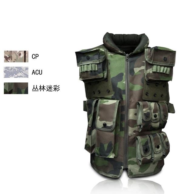 Cs uniformes de treinamento de campo ao ar livre equipamentos de proteção tático colete anfíbio colete de combate militar multifuncional