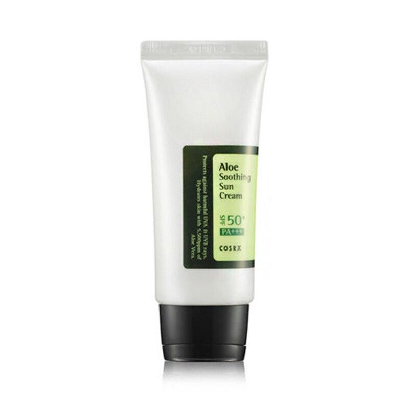 Cosrx Aloe Soothing Sun Cream SPF50 PA+++ 50ml Mild Sun Block Sun Protection Cream Repairing Sun Cream For Face & Body