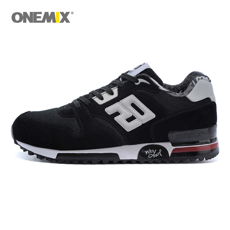 Onemix men & women retro running shoes light cool sneakers breathable athletic shoes for outdoor sports jogging walking trekking onemix 2017 running shoes for men outdoor walking shoes sports shoes light jogging shoes adult athletic trekking sneakers 39 46