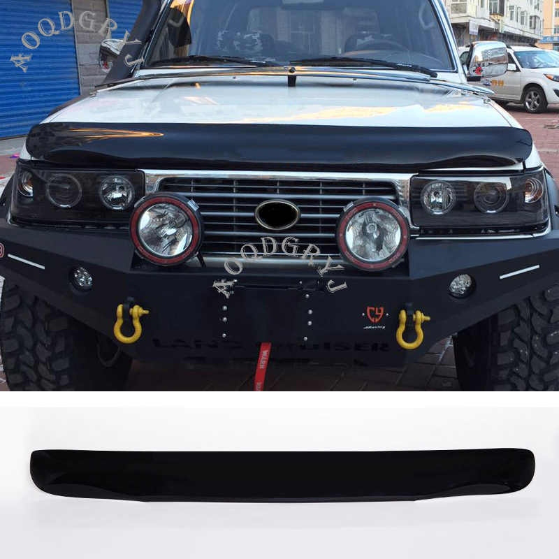 1pcs Car Styling Nero Cappuccio di Protezione Fander Guardia arenaria shield Fit Per Toyota Land Cruiser LC80 FJ80 1991- 1997