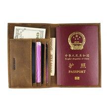 Хит, Мужская Обложка для паспорта, для путешествий, для документов, для мужчин ts 589-46, настоящий кожаный кошелек для путешествий, мужские держатели для кредитных карт, ID, Прямая поставка