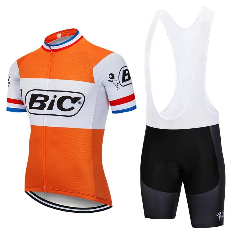 2018 BI Cycling team Clothing Bike jersey Ropa Ciclismo Quick Dry Mens pro Cycling Jerseys gel bike shorts BICYCLING Maillot