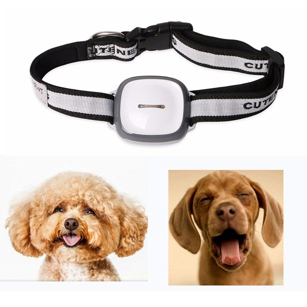 Мини Питомец GPS Tracker Водонепроницаемый Smart GPS Трекер С Воротником для Домашних Животных Кошка Собака GPS + LBS Расположение Бесплатное ПРИЛОЖЕНИ…